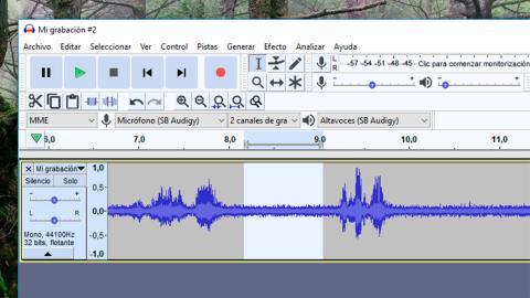 Eliminar ruido de fondo en pista de audio
