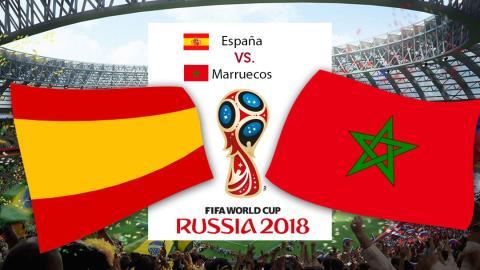 España vs Marruecos