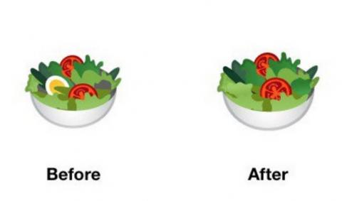 Emoji ensalada
