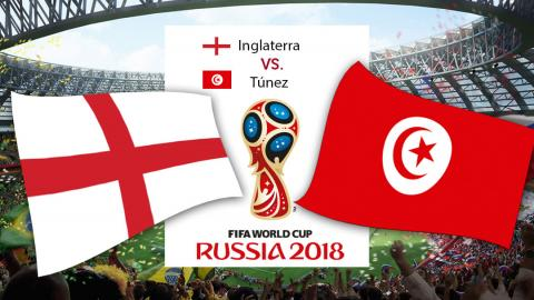 Inglaterra vs Túnez