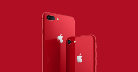 iPhone 8 Red Hi Res