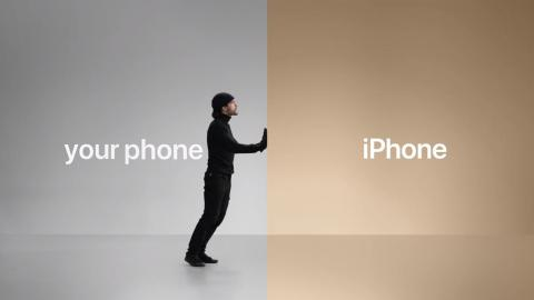 iPhone anuncio