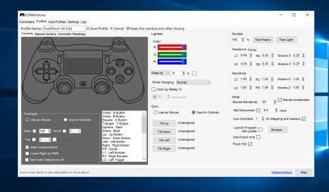 Mando PS4 a PC
