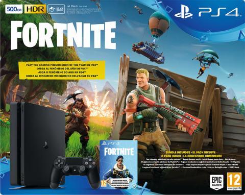 Fortnite Battle Royale PS4 pack