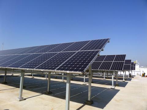 Paneles solares de Samsung