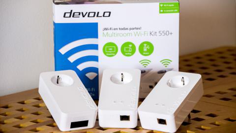 PLC devolo multiroom Wi-Fi Kit 550+