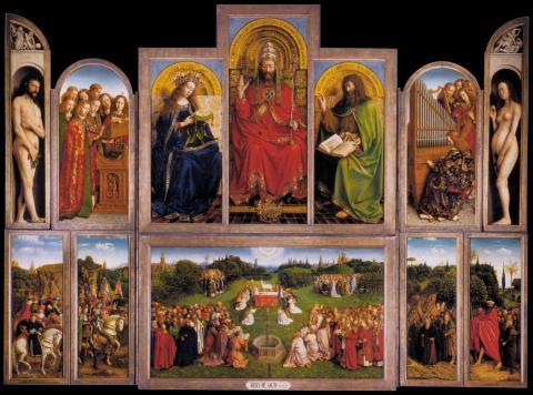 Políptico del Cordero Místico o Altar de Gante