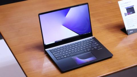 The Asus ZenBook Pro laptop