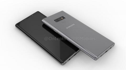 Render samsung galaxy note 9