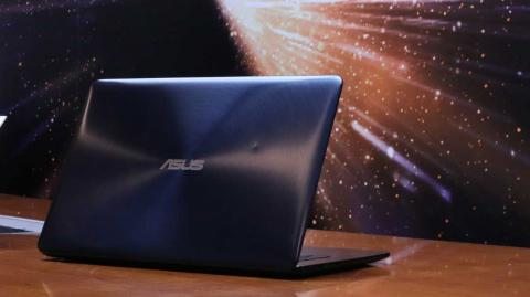Rear of the ZenBook Pro