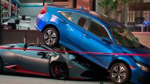 Accidente aparcamiento