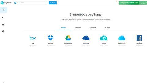 AnyTrans para Cloud