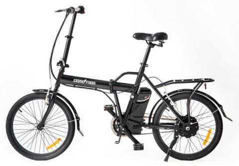Bicicleta Eléctrica Skateflash Folding E-Bike Black