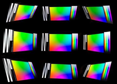Ángulos de visión - bq Aquaris X2 Pro