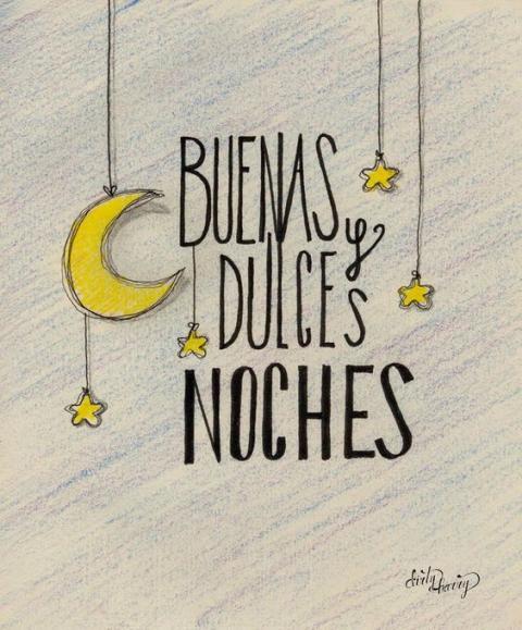 buenas noches - cariño