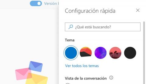 Cambiar un tema en Outlook