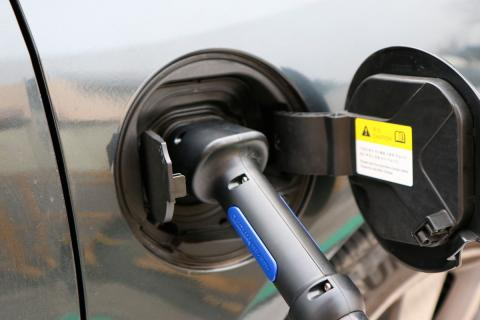 Cargador de batería coche eléctrico