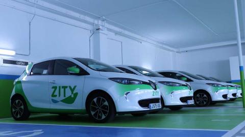 Los coches eléctricos de Zity