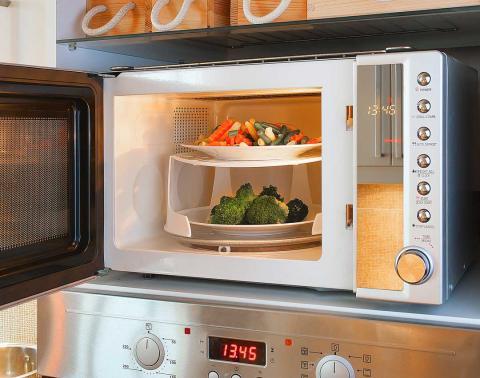 Comida que puedes calentar en el microondas