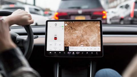 Cuadro Tesla Model 3