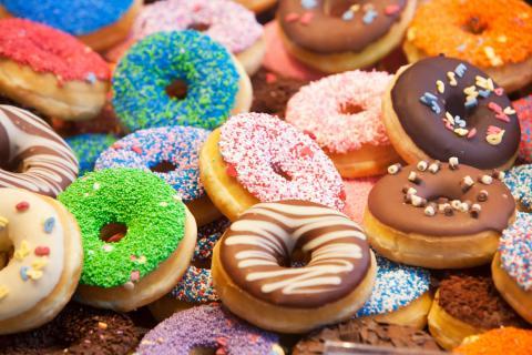 Donuts bollería
