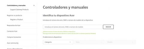 Drivers Acer