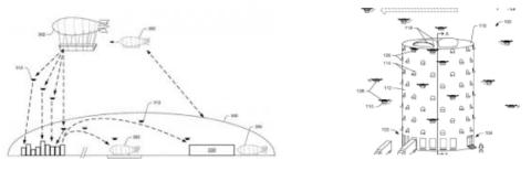 LAs patentes del sistema de drones Prime Air