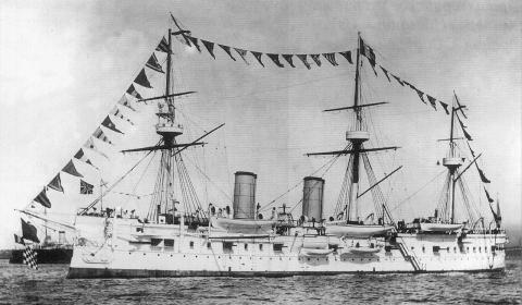 Barco ruso hundido