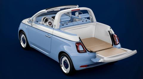 Fiat 500 Spiaggina descapotable