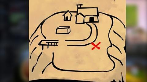 Fortnite Battle Royale - Mapa del tesoro Industrias Inodoras