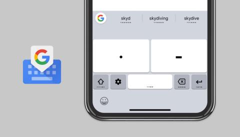 Google Gboard teclado con código morse