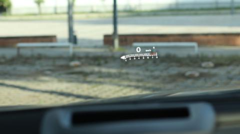 Head up display del Insignia