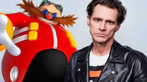 Jim Carrey es el Dr. Eggman
