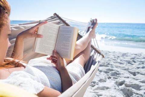 libro playa verano