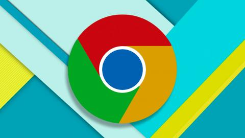Material Design Google Chrome
