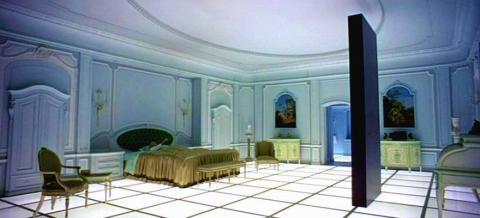 Monolito de Odisea en el espacio