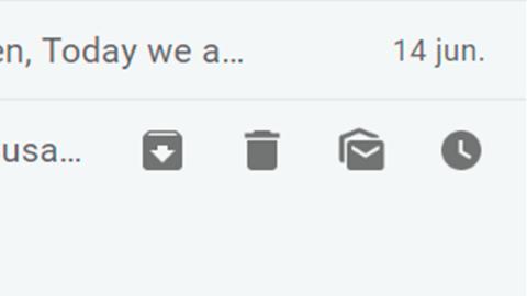 Nuevas acciones en Gmail