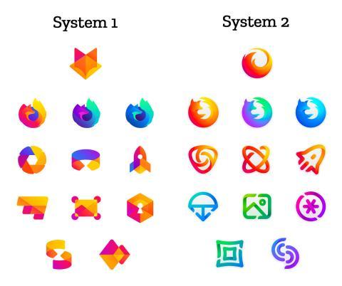 Nuevos logos de Firefox