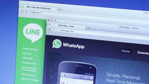 Página web de WhatsApp