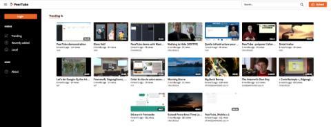 Peertube es una plataforma de vídeo alternativa a YouTube.
