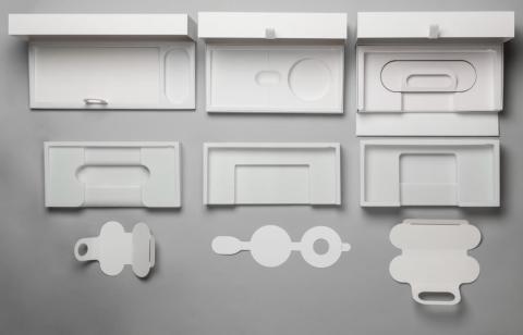 Prototipos de embalaje de Xbox Adaptive Controller