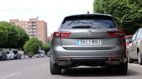 Prueba de la tecnología del Opel Insignia