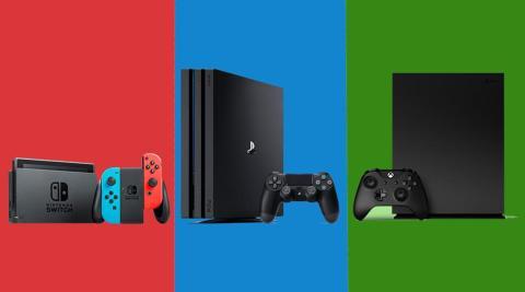 PS4 Xbox One X Nintendo Switch