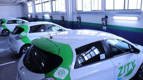 Puntos de carga para los coches eléctricos de Zity
