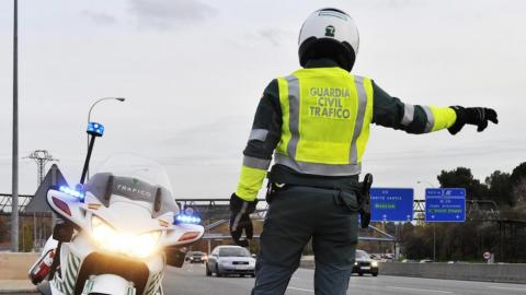 Moto Guardia Civil