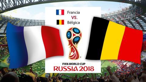 semifinales mundial 2018 francia bélgica
