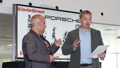 Sixto Arias y Javier Sirvent