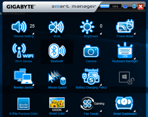 Smart Manager de Gigabyte