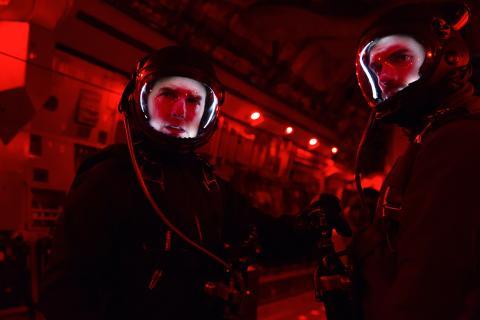 Tom Cruise y Henry Cavill en Misión: Imposible - Fallout