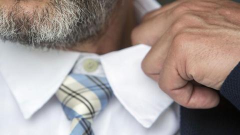 Uso de corbata
